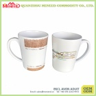 Restaurant use high quality coffee cup with handle