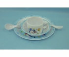 melamine baby dinner set