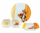 melamine dishware set