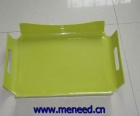 melamine handled tray