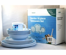 melamine tableware set
