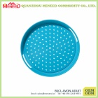 OEM design top grade melamine round tray with handles