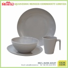 Hotel and restaurant use ceramic-like melamine tableware own design
