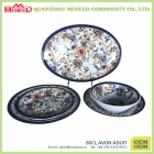 Modern family use new design melamine dinner set