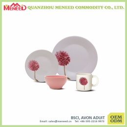 High quality and cheap dishwasher safe melamine dinnerware set