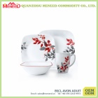 Elegant design dishwasher safe melamine dinner set