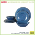 Popular design rustic design melamine dinnerware set