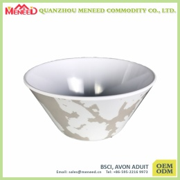 external printing high quality round dinner bowl